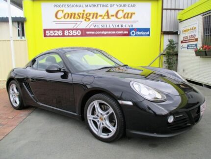 2010 Porsche Cayman 987 MY11 PDK Black 7 Speed Sports Automatic Dual Clutch Coupe Bundall Gold Coast City Preview