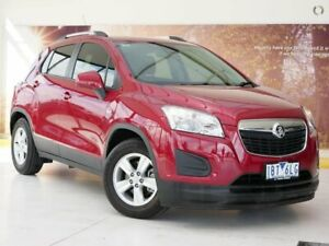 2014 Holden Trax TJ MY14 LS Red 6 Speed Automatic Wagon Collingwood Yarra Area Preview