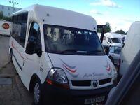 renault motorhome / campervan full 12 months mot 6 speed diesel
