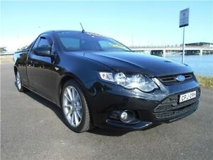 2013 Ford Falcon FG MkII XR6 Ute Super Cab Silhouette 6 Speed Manual Utility Hamilton East Newcastle Area Preview