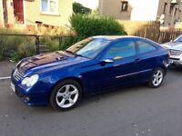 Mercedes Benz C220 CDI Coupe Automatic 2006