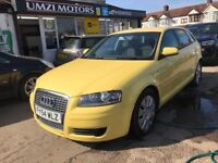 2005 Audi A3 1.6 5dr AUTOMATIC, 6 MONTHS WARRANTY, 1 YEAR BREAKDOWN COVER,