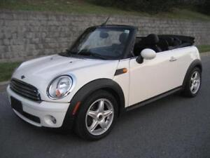 2009 MINI COOPER CONVERTIBLE 59,000/KM, AUTOMATIQUE, CUIR, MAGS!