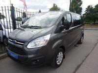2015 65 FORD TRANSIT CUSTOM L2 H1 DOUBLE CAB-IN-VAN 2.2TDCi ( 125PS ) TREND