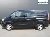 2014 Ford Transit Custom 2.2 TDCi 100ps Low Roof D/Cab Trend Van Diesel black Ma