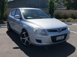 2007 Hyundai i30 FD SX Silver 4 Speed Automatic Hatchback Bridgewater Adelaide Hills Preview