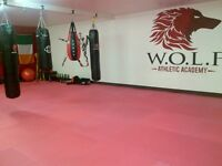 GYM SPACE FOR RENT @ WOLF ACADEMY