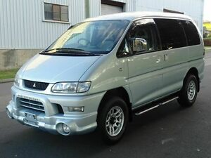 2005 Mitsubishi Delica SPACEGEAR High Roof 7st Silver 4 Speed Automatic Wagon Taren Point Sutherland Area Preview