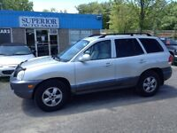 2005 Hyundai Santa Fe GL Fully Certified and Etested!