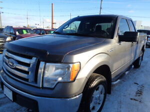 2012 FORD F-150 XLT-4X4-SUPPERCAB--3.7L V6--ONE OWNER TRUCK