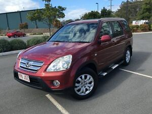 2005 Honda CR-V Red 5 Speed Automatic Wagon Biggera Waters Gold Coast City Preview
