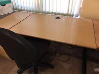 Light Oak Office Desk