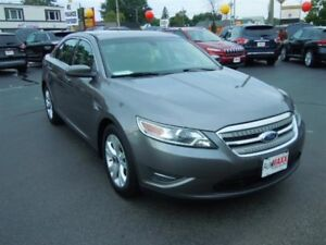 2011 FORD TAURUS SEL- HEATED FRONT SEATS, FRONT DUAL ZONE A/C, P
