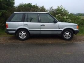 Range Rover for spares not drivable!