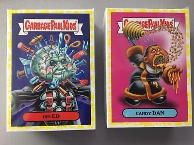 2018 GARBAGE PAIL KIDS OH THE HORROR-IBLE NEAR SET YELLOW PHLEGM 199/200 CARDS