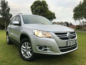 2010 Volkswagen Tiguan 5N MY10 103TDI 4MOTION Silver 6 Speed Manual Wagon Somerton Park Holdfast Bay Preview