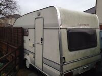 Caravan 4 Berth. Adapted as static play room. Clean & dry inside. Free delivery Hampshire.