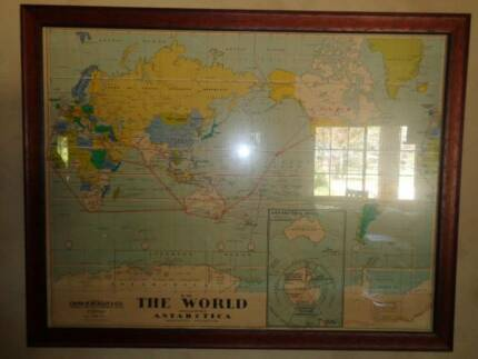 Colourful scratch world map poster art gumtree australia framed world map gumiabroncs Images