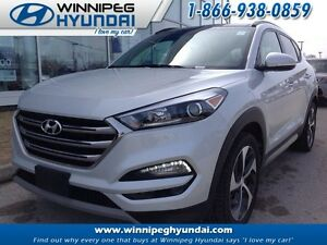2017 Hyundai Tucson AWD 1.6T SE Leather Sunroof No Accidents