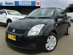2009 Suzuki Swift EZ 07 Update Black 4 Speed Automatic Hatchback Blacktown Blacktown Area Preview
