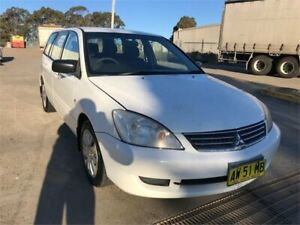 2007 Mitsubishi Lancer CH MY07 ES White 4 Speed Auto Sports Mode Wagon Chester Hill Bankstown Area Preview