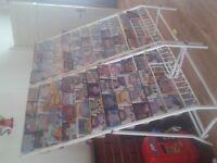 2 large dvd/game racks