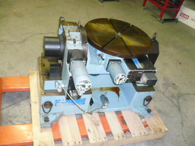 Aa Gage 20 Diameter Tilting Rotary Table Cnc 4th And 5th Axis