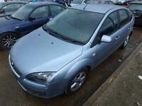 Ford Focus 1.6 Diesel N/S Front Wing In Blue Colour Breaking For Parts 2006