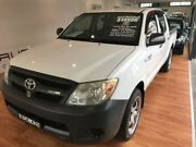 2008 Toyota Hilux TGN16R 08 Upgrade Workmate 5 Speed Manual Dual Cab Pick-up Batemans Bay Eurobodalla Area Preview