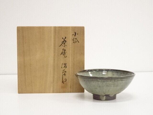 5217471: JAPANESE TEA CEREMONY SHODAI WARE TEA BOWL BY JITARO CHIKASHIGE / CHAWA