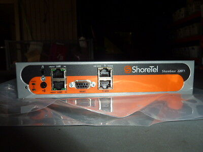 New Shoretel Shoregear 220T1 Sip Voip Voice Switch Retail