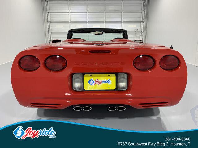 2004 Red Chevrolet Corvette Convertible  | C5 Corvette Photo 5