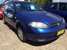 2008 Holden Viva JF MY09 Blue 5 Speed Manual Hatchback Macquarie Hills Lake Macquarie Area Preview
