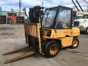 chariot élévateur Hyster 9000 lbs diesel