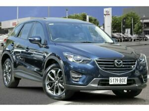 2016 Mazda CX-5 KE1032 Akera SKYACTIV-Drive i-ACTIV AWD Blue 6 Speed Sports Automatic Wagon