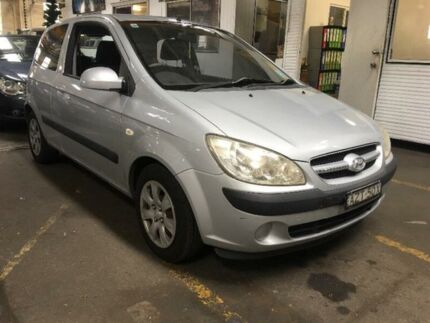 2006 Hyundai Getz TB SXI Silver Manual Hatchback Georgetown Newcastle Area Preview