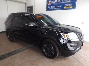 2017 Ford Explorer XLT 4WD SUNROOF NAVI LEATHER/SUEDE TWO-TONE