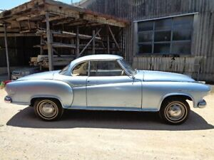 1960 Borgward Isabella 1 Isabella Blue 4 Speed Manual Coupe Chermside Brisbane North East Preview