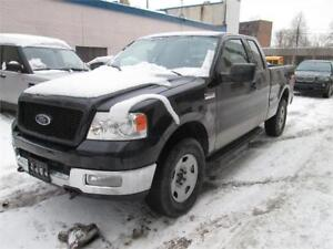 """2004 Ford F150 Supercab 133"""" XLT AWD Low mileage/ Snow tires on."""