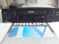 Phillips VR 6547 4 Head Nicam video recorder