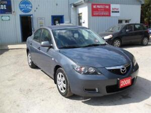 2008 Mazda Mazda3 GX| MUST SEE| WELL SERVICED| NO RUST|SPECIAL