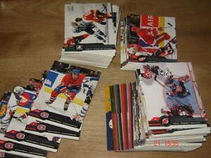 Cartes de hockey Pacific 2001-2002 - gros lot pas chere