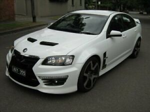 2009 Holden Special Vehicles GTS E2 Series White 6 Speed Manual Sedan North Melbourne Melbourne City Preview