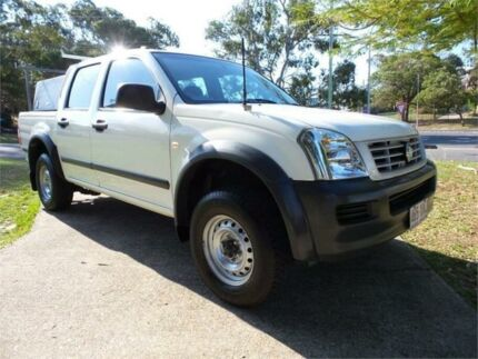 2004 Holden Rodeo White Automatic Utility