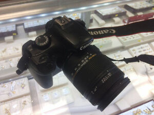 Canon T3 with incredible Sigma Lens 18-250mm !!