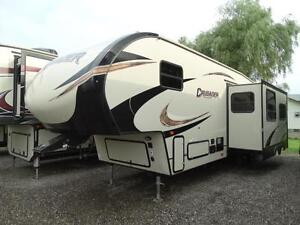 2018 Crusader 29BH 5th wheel RV with bunkhouse