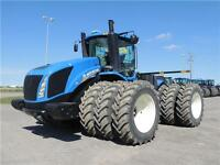 2012 New Holland T9.670 HD, Michelin triples, LOADED,ONLY1583 HR