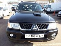 MITSUBISHI SHOGUN SPORT 2.5 TD WARRIOR SERVICE HISTORY DIESEL 4WD LEATHER