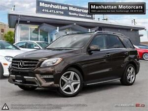 2015 MERCEDES BENZ ML350 BlueTEC AMG |NAV|CAM|BLINDSPOT|WARRANTY