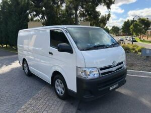 2012 Toyota HiAce TRH201R MY12 LWB White 4 Speed Automatic Van Maidstone Maribyrnong Area Preview